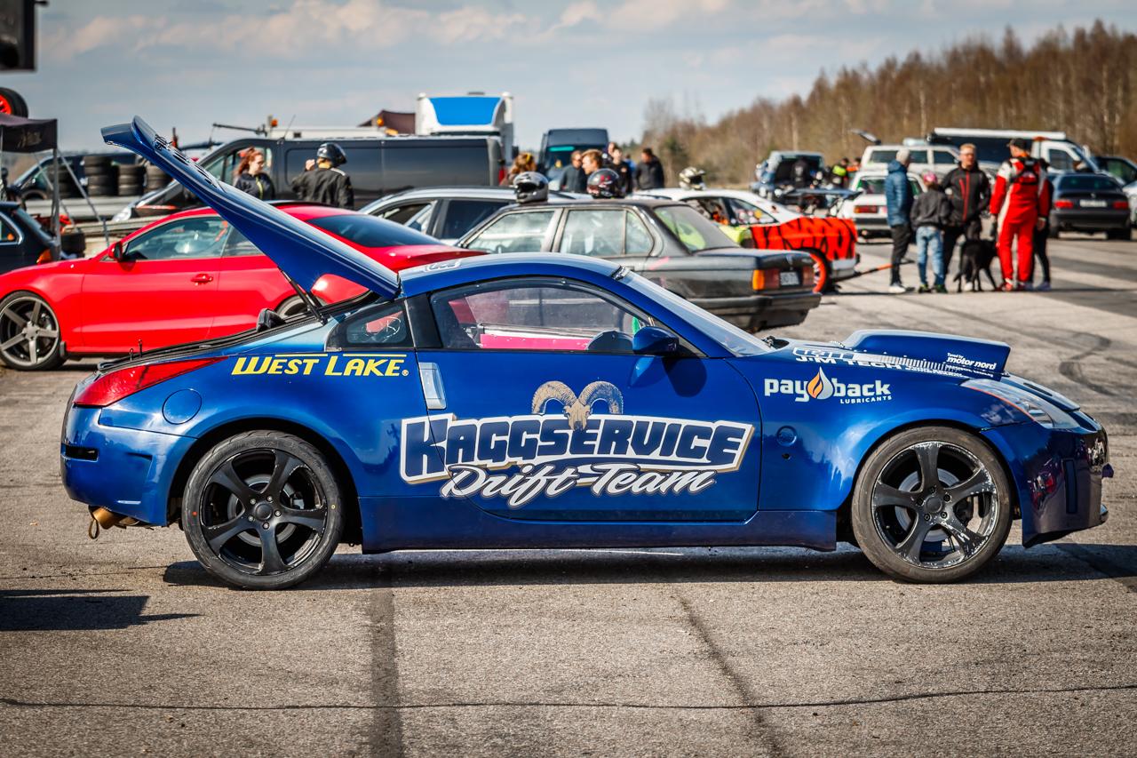 Flashback: Första testrundan med bilen 2016